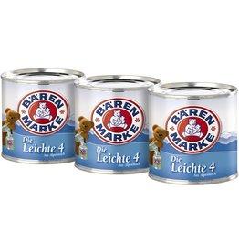 Bärenmarke Kondensmilch, Die Leichte 4, 4 %, 3 Dosen à 170 g