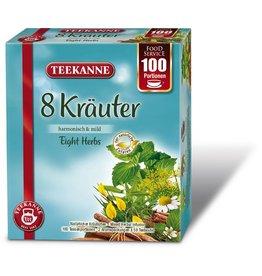 TEEKANNE Kräutertee 8 Kräuter, Beutel, 2 x 50 Beutel à 1,25 g