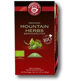 TEEKANNE Kräutertee Bio Bergkräuter, Beutel aromaversiegelt, 20 x 1,8 g