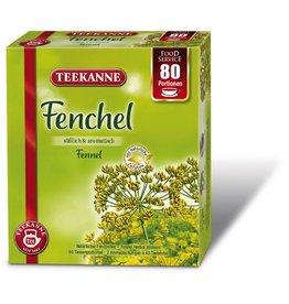 TEEKANNE Kräutertee Fenchel, Beutel, 2 x 40 Beutel à 2,5 g