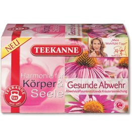 TEEKANNE Kräutertee Gesunde Abwehr, Btl. aromavers., 20x2g