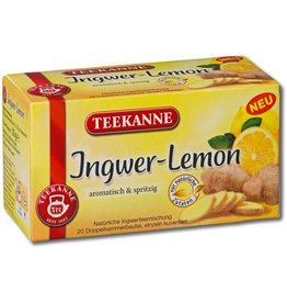 TEEKANNE Kräutertee Ingwer-Lemon, Btl. kuv., 20x1,75g