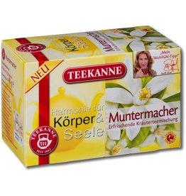 TEEKANNE Kräutertee Muntermacher, Btl. aromavers., 20x2g