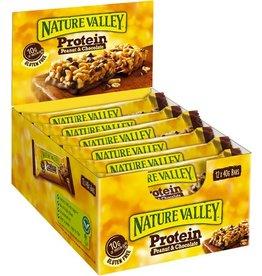 NATURE VALLEY Proteinriegel, Peanut & Chocolate, 12 x 40 g