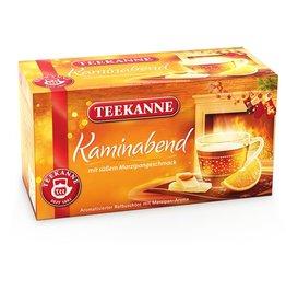 TEEKANNE Rooibostee Kaminabend, Beutel kuvertiert, 20 x 2 g