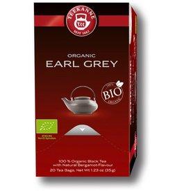 TEEKANNE Schwarztee Bio Earl Grey, Beutel aromaversiegelt, 20 x 1,75 g