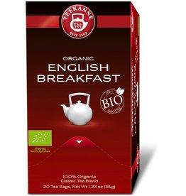 TEEKANNE Schwarztee Bio English Breakfast, Beutel aromaversiegelt, 20 x 1,75 g