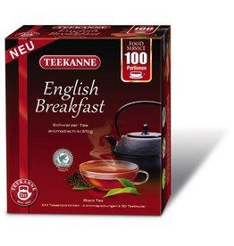 TEEKANNE Schwarztee English Breakfast, Beutel, 2 x 50 Beutel à 1,75 g