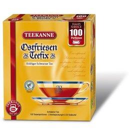 TEEKANNE Schwarztee Ostfriesen Teefix, Beutel, Karton, 2 x 50 Beutel à 1,5 g