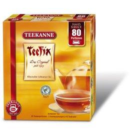 TEEKANNE Schwarztee Teefix, 2 x 40 Beutel à 1,75 g