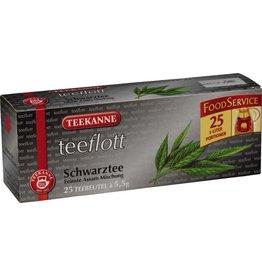 TEEKANNE Schwarztee teeflott, Beutel, ergibt: 1.000 ml, 25 x 5,5 g
