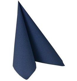 PAPSTAR Serviette, ROYAL, Tissue, 1/4 Falz, 40 x 40 cm, dunkelblau