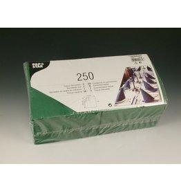 PAPSTAR Serviette, Tissue, 3lg., 1/4 Falz, 33x33cm, dunkelgrün