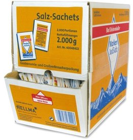 Bad Reichenhaller Speisesalz, jodhaltig, Packung, 2.000 Portionen à 1 g