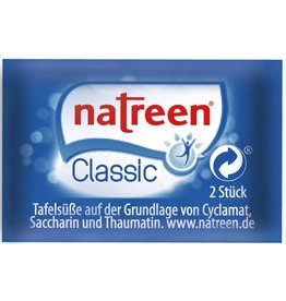 natreen Süßstoff Classic, Tabletten, 500 Portionen à 2 Stück