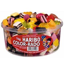 HARIBO Süßwarenmischung, COLOR-RADO, sortiert, Klarsichtdose