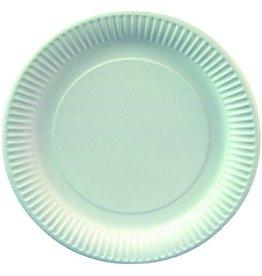PAPSTAR Teller, Pappe, 330g/m², rund, Ø: 19cm, weiß