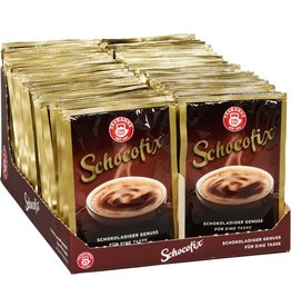 TEEKANNE Trinkschokolade Schocofix Classic, Pulver, Karton, 50Btl.à 25g