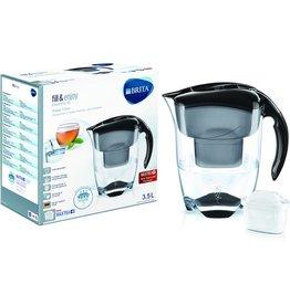 BRITA Wasserfilter, Elemaris XL, Gefiltertes Wasser: 2 l, schwarz