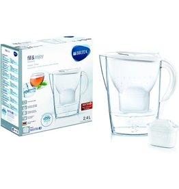 BRITA Wasserfilter, Marella Cool, Gefiltertes Wasser: 1,4 l, weiß