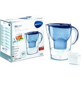 BRITA Wasserfilter, Marella XL, Gefiltertes Wasser: 2 l, Gesamt: 3,5 l, blau