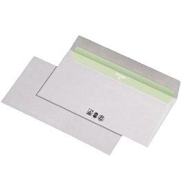 Envirelope Briefumschlag, o.Fe., hk, DL, 220x110mm, 80g/m², RC, weiß