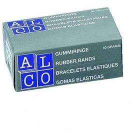 ALCO Gummiring, Schachtel klein, Kautschuk, Ø: 85 mm, rot