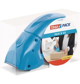 tesa Packbandabroller PACK'N'GO, für Rollen bis 50 mm x 66 m, Kern-Ø: 76 mm
