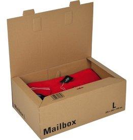 ColomPac Versandkarton MAILBOX, L, 1w., i: 395 x 250 x 140 mm, braun
