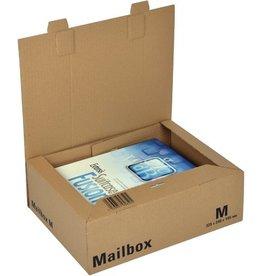 ColomPac Versandkarton MAILBOX, M, A4+, 1w., i: 325 x 240 x 105 mm, braun