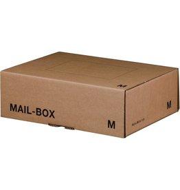 smartboxpro Versandkarton MAILBOX, M, Steckverschl., i: 331x241x104mm, braun