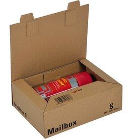 ColomPac Versandkarton MAILBOX, S, A5+, 1w., i: 250 x 175 x 80 mm, braun