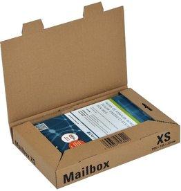 ColomPac Versandkarton MAILBOX, XS, 1w., i: 245 x 145 x 33 mm, braun