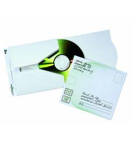 DURABLE Versandtasche CD/DVD MAIL, für: 1CD, Kart., n. kleb., weiß