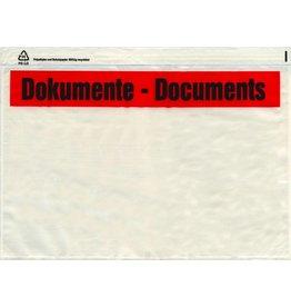 DEBATIN Begleitpapiertasche UNIPACK™, DOKUMENTE, Anklebeverschluss, C4