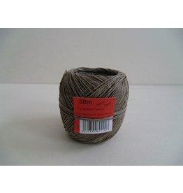 Heckmann Bindfaden, 2/2,0 fein, Ø: 1,5 mm, für Pakete bis 4 kg, Knäuel, L: 80 m