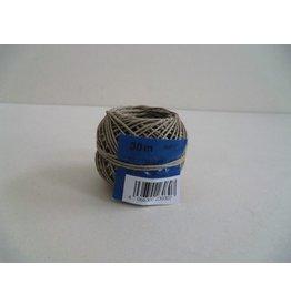 Heckmann Bindfaden, 2fach stark, Ø: 1 mm, für Pakete bis 2 kg, Knäuel, L: 30 m