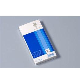 ZANDERS Briefumschlag GOHRSMÜHLE, o.Fe., gum, DL, 220x110mm, 80g/m², weiß