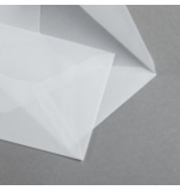 MAYSPIES Briefumschlag Transparent Premium, o.Fe., gum, 98x62mm, farblos