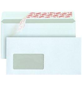 MAILmedia Briefumschlag, mit Fenster, hk, C6/5, 229x114mm, 80g/m², weiß