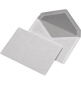 MAILmedia Briefumschlag, o.Fe., gum, C6, 162 x 114 mm, 75 g/m², Offset, weiß