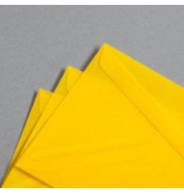 MAYSPIES Briefumschlag, ohne Fenster, haftklebend, DL, 100 g/m², gelb