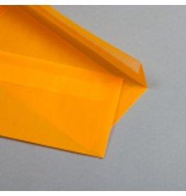 MAYSPIES Briefumschlag, ohne Fenster, haftklebend, DL, 100 g/m², orange
