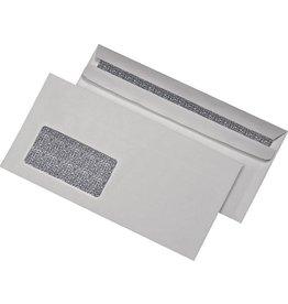 MAILmedia Briefumschlag, Zahlenmeer, mit Fenster, sk, DL, 75 g/m², weiß