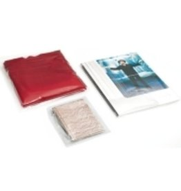 Pressel Flachbeutel, Polyethylen, 0,05 mm, 120 x 180 mm, farblos, transparent