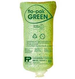 FP INTERNATIONAL Füllmaterial, GREEN, expandiertes Polystyrol (RC), flo-pak®