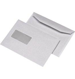 kuvermatic Kuvertierhülle, m.Fe., gum, C5, 229x162mm, 80 g/m², hf, weiß