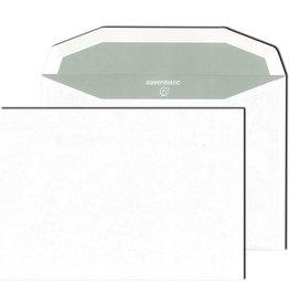 kuvermatic Kuvertierhülle, ohne Fenster, gummiert, C5, 75 g/m², Offset, weiß