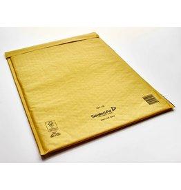 Mail Lite Luftpolstertasche, sk, Typ: J/6, i: 300 x 440 mm, Kraftpapier, gold