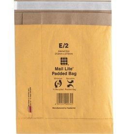 Mail Lite Papierpolstertasche, ohne Fenster, haftklebend, i: 213 x 273 mm, gold